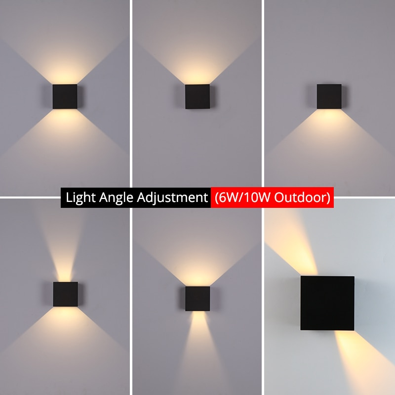 LED Outdoor Garden Wall Lamp Product Function