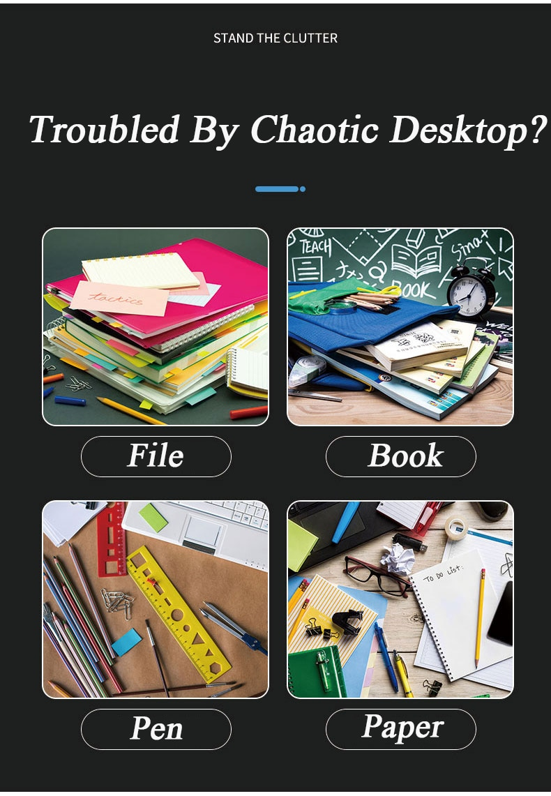 5 Layers Multifunction Document Trays Product Function